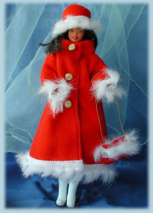 Barbie Schnittmuster: Wolgawinter
