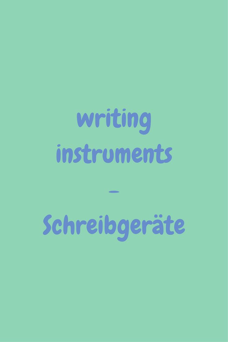 writing instruments - informations about all kinds of pens, markers and other writing instruments