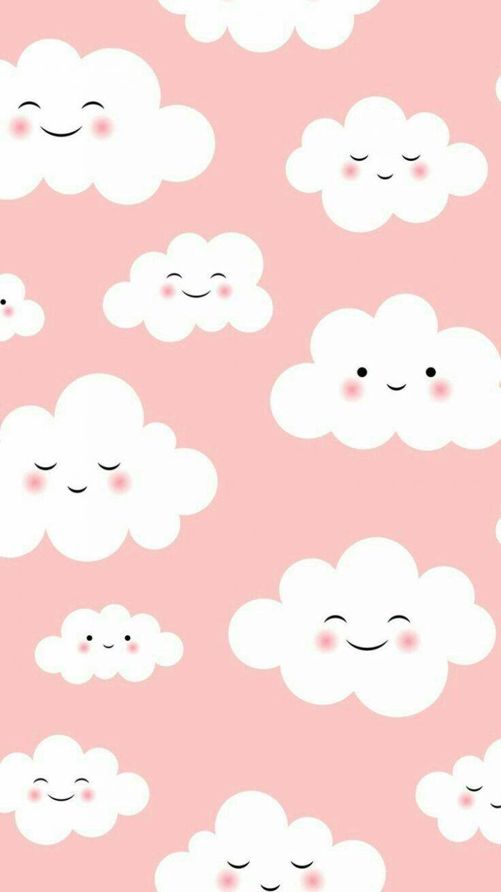 Pink Clouds Wallpaper Iphone Cute Cute Wallpapers Iphone Wallpaper