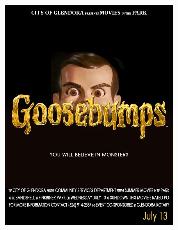 2016 Summer Movie in the Park | Goosebumps