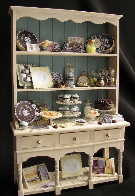 Cupboard of sweets by goddess of chocolate, via Flickr