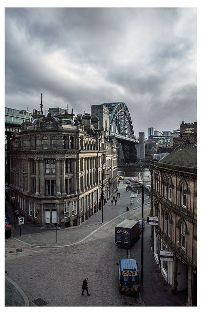 Newcastle upon Tyne... Such a beautiful city.