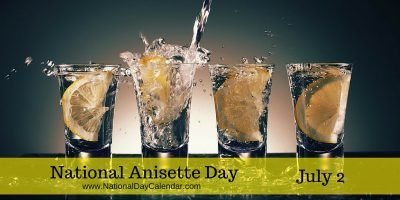 National Anisette Day July 2  Would absinthe qualify?  It has an anise flavor to it.  I got some Absente absinthe.  Anyone want to try?  It is good with yuzu.