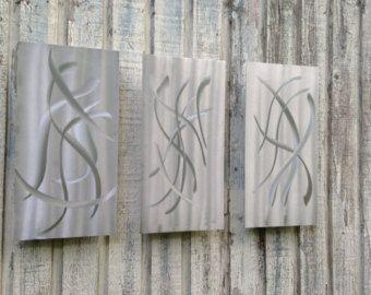 Metal Wall Art Sculpture Home Decor Handmade U.S. by by onlyart76