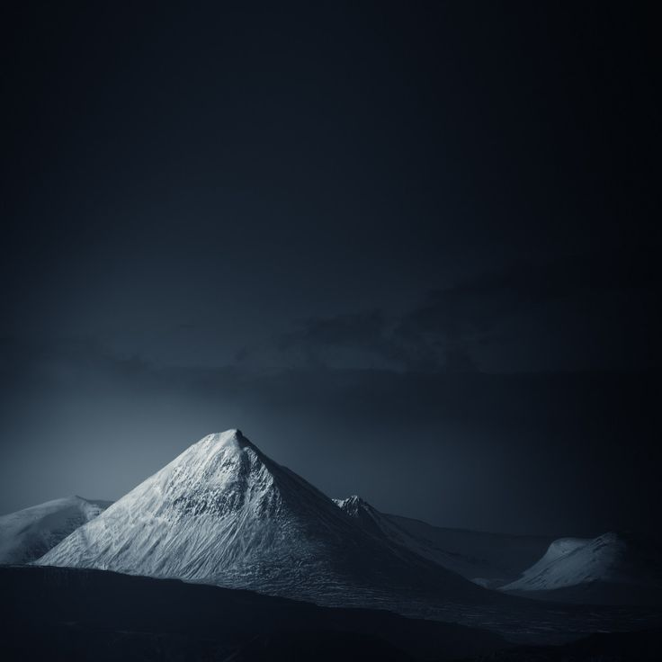 Mountains Shot in Infrared Look Haunting as All Get-Out | Baula Mountain, Iceland. | Credit: Andy Lee | From Wired.com