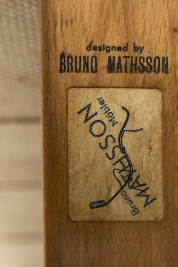 Bruno Mathsson easy chair Eva by Karl Mathsson at Studio Schalling