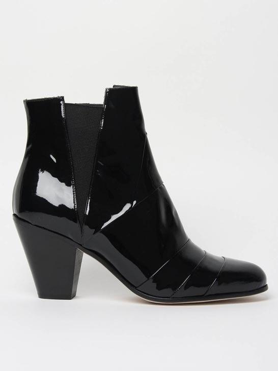 Gareth Pugh High Heel Male Boots Black Forever