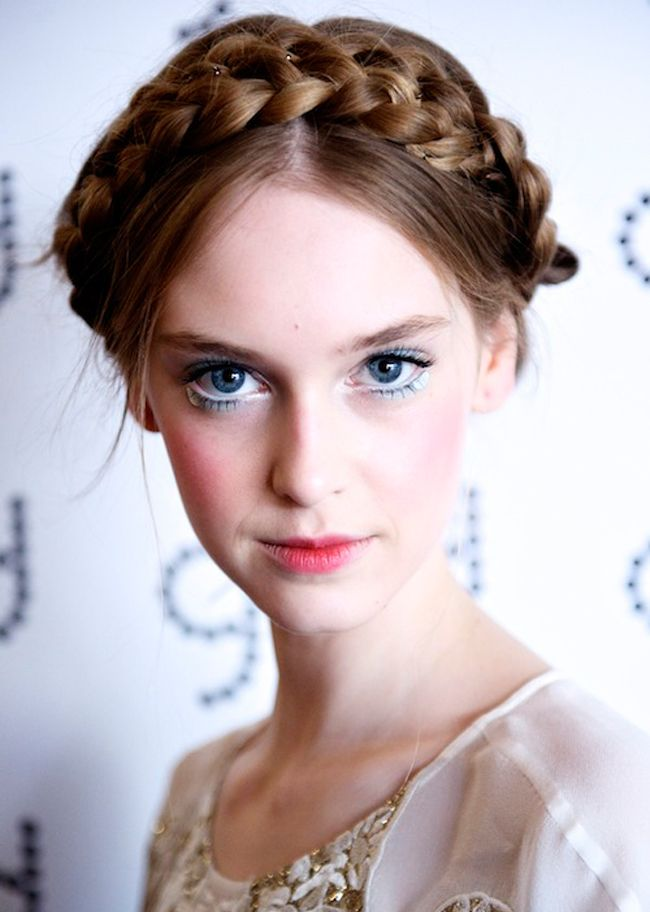 Best Braid Board Images On Pinterest Braided Updo Messy - Diy hairstyle knotted milkmaid braid
