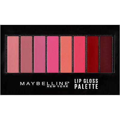 Maybelline Lip Gloss Palette $12
