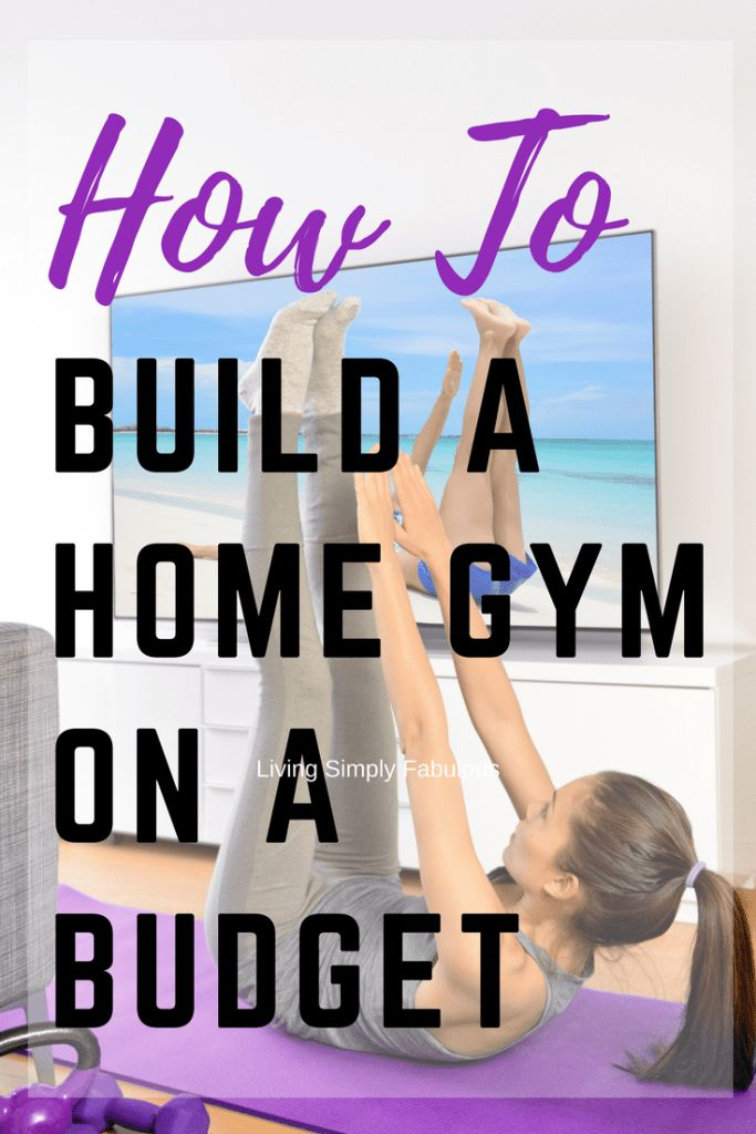 No more signing up for fancy and expensive gym memberships to help you get fit. Don't waste money on bulky fitness equipment but instead buy cheap gym equipment. Great for working out at home, here are a few tips on how to build a home gym on a budget.  Build a home gym on a budget  Lauren B Montana