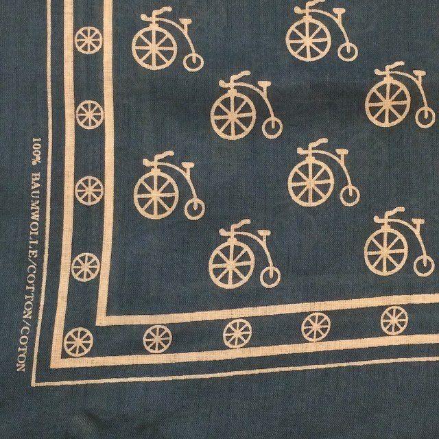 Briar Vintage — This #vintage #PennyFarthing #cotton #bandana is a...