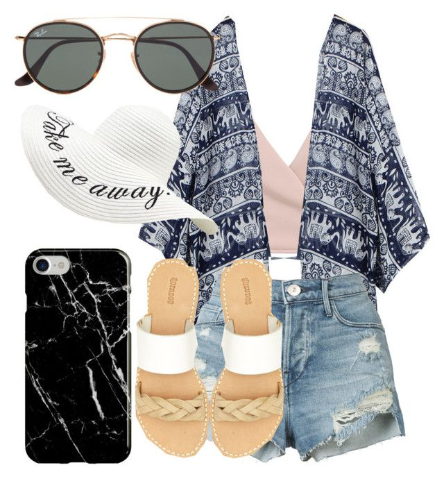 """""""What Should I Wear Today?"""" by madisoncorell on Polyvore featuring 3x1, Soludos, Ray-Ban and Recover"""