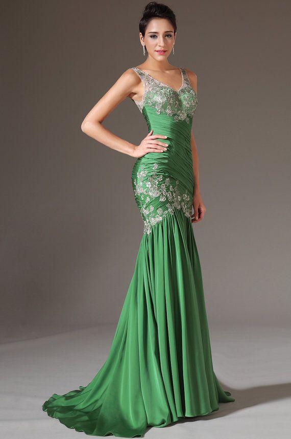 Evening dress tops made