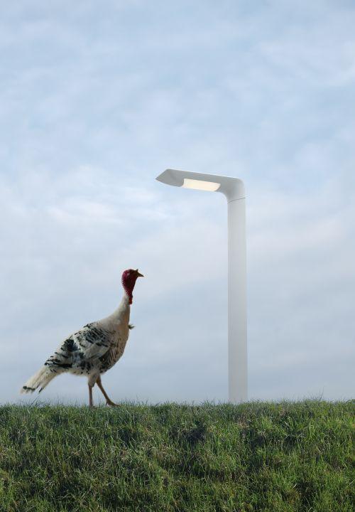 #Hila palo, LED light for #outdoors ► http://bit.ly/_Hila #design Carlo Colombo Outdoors lighting