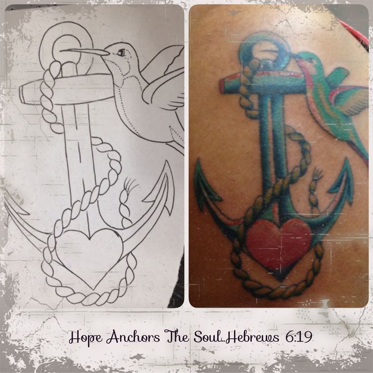 My Anchor Holds Me Down...