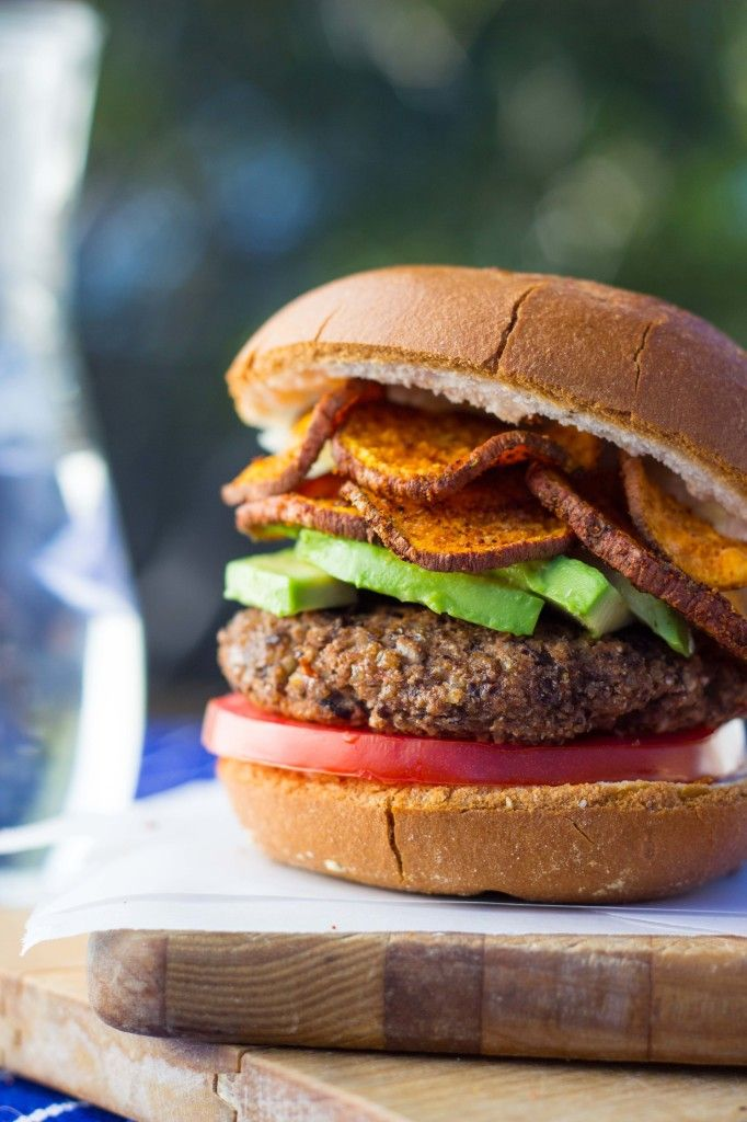 Easy Vegan Black Bean Burgers #glutenfree #recipe #dinner www.shelikesfood.com