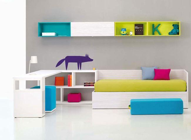 Minimalistische Einrichtung Des Kinderzimmers U201cless Is Moreu201d   Zitat Von  Dem Berühmten Architekt Mi.