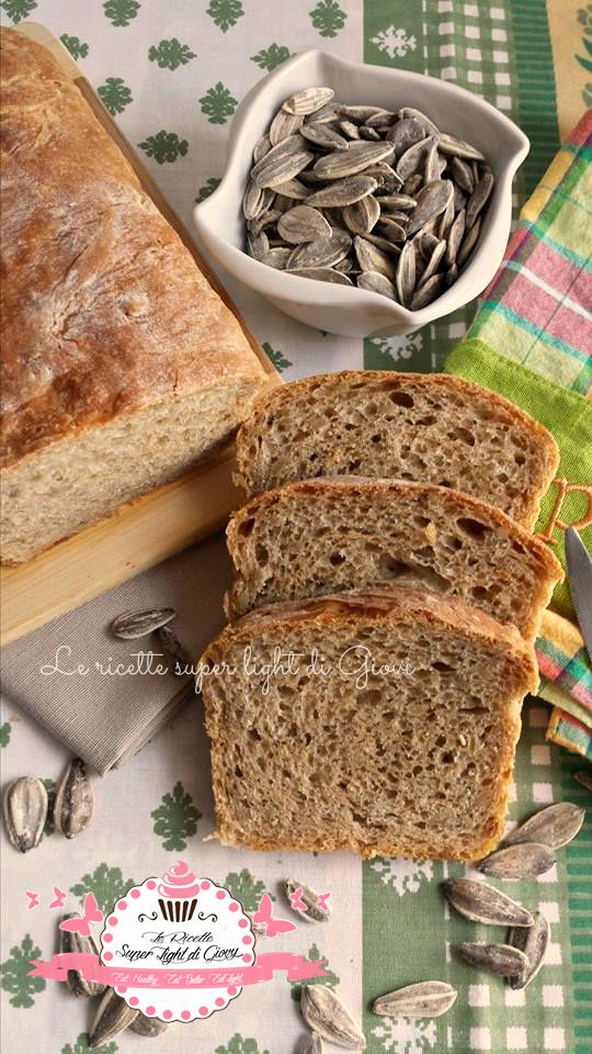 Pan bauletto integrale ai semi di girasole – ricetta alleggerita | Le Ricette Super Light Di Giovi