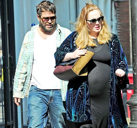 Singer Songwriter Adele was spotted today, September 4, in ...