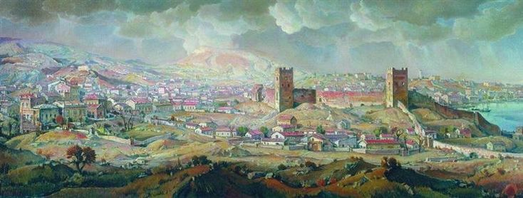 Феодосия - Константин Богаевский  1930
