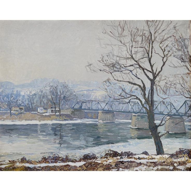 les 3702 meilleures images du tableau art paysages d 39 hiver peinture sur pinterest paysages. Black Bedroom Furniture Sets. Home Design Ideas