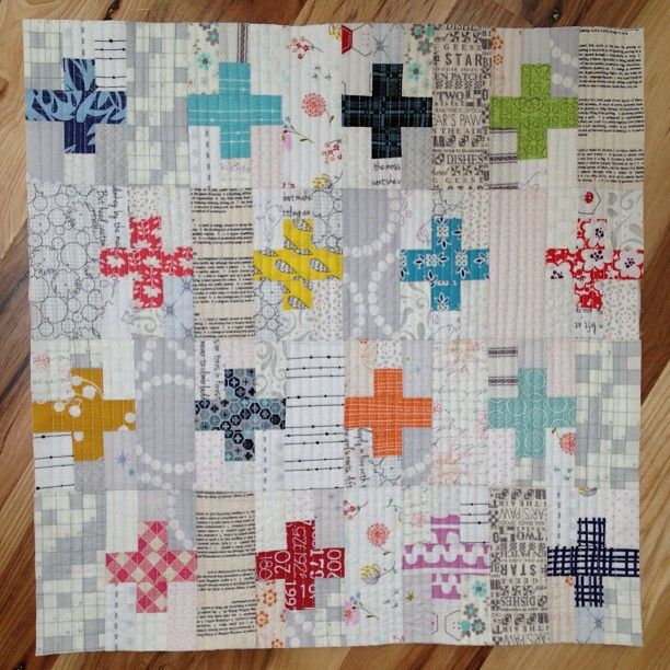 #kingtut #libertylove #PTS13 by Stephanie Finol, via Flickr - love these little crosses with the low volume- would love the crosses in solids!