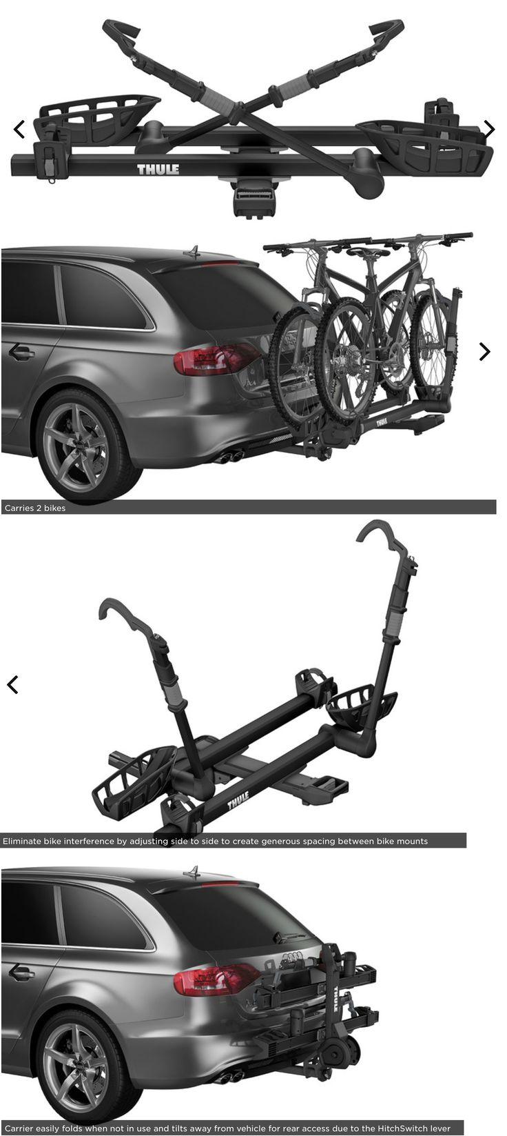 Car and truck racks 177849 new thule t2 pro xt black 2 bike rack