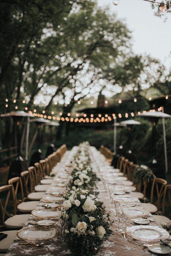 Elegant organic table decor   Jonnie & Garrett Photography