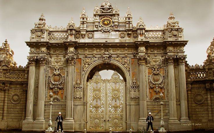palatial palaces | Dolmabahçe Palace, Istanbul, Turkey