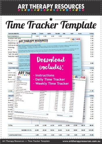 FREE DOWNLOAD: Time Tracker Template. 10 Useful Planning Tools for Your Business