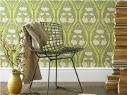 Passion Lily - Green    Wallpaper 52cm x 10m per roll    Paste the wall.  Please make sure you follow manufactures instructions when hanging wallpaper