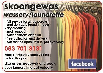 Skoongewas laundrette full service and self service (coin operated) | Brackenfell | Gumtree South Africa