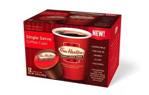 Tim Hortons is to Canada what Starbucks is to the US.  But if you've ever tried their coffee, you know it has a very down home, distinctive taste.  Although it's not for everyone, it's definitely one you can serve at home now thanks to their single serve K-cups.  Available online at http://shopus.timhortons.com/ or in grocery stores and Tim Horton cafes along the Canadian-US border.