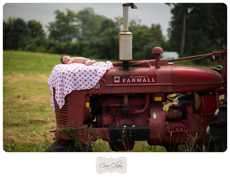 Farm Style Newborn Session