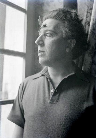 André Breton, 1935. By Man Ray