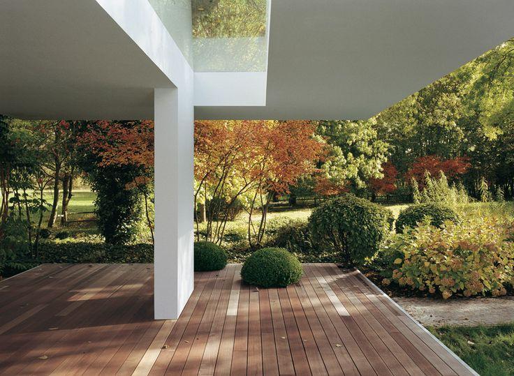 Architecture, culture, nature – élégance et technologie pure – le bois dans les jardins, les paysages …