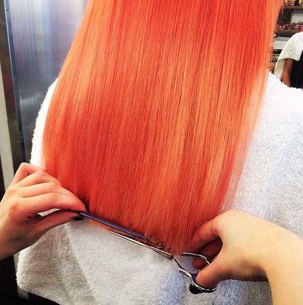 Tangerine dream & Awkward Peach #bleach london