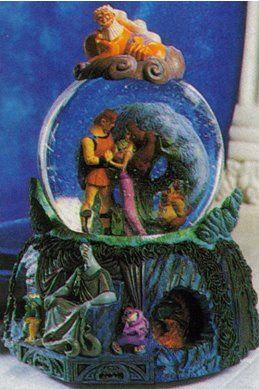 Disney Snowglobes Collectors Guide: Hercules Snowglobe