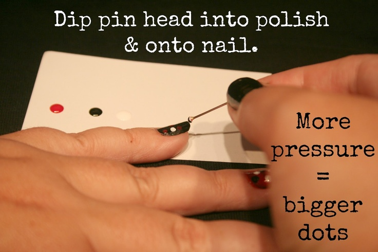 Get cute nail art without the fancy tools!