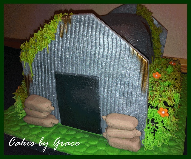 Your very own ANDERSON SHELTER CAKE!!!