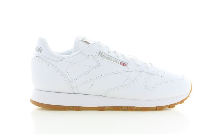 net binnen Reebok  Classic Leather White Gum Sole WMNS