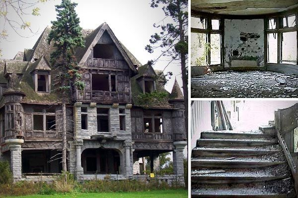 Wyckoff villa carleton island ny mystical beauty for Abandoned mansions in new york for sale