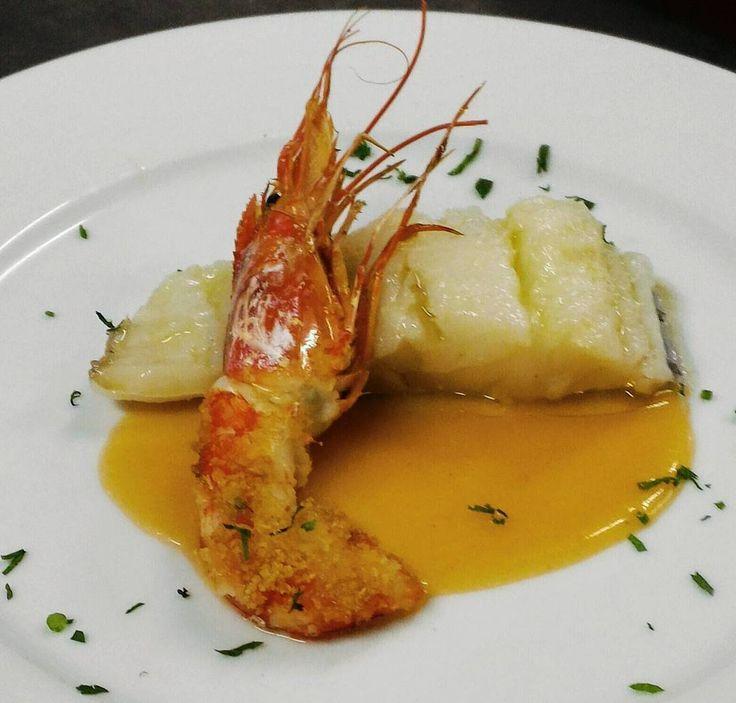 Baccalà in olio cottura....un delicato sapore lo rende così speciale #lamantagnata #mare #salentofood  #igersalento #melendugno #seafood #salentodove
