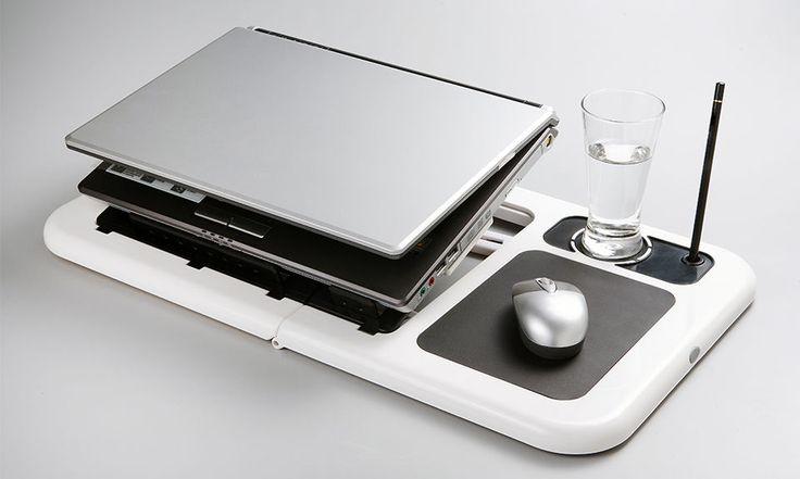 Schreibtisch für Laptop + Kühlung usb