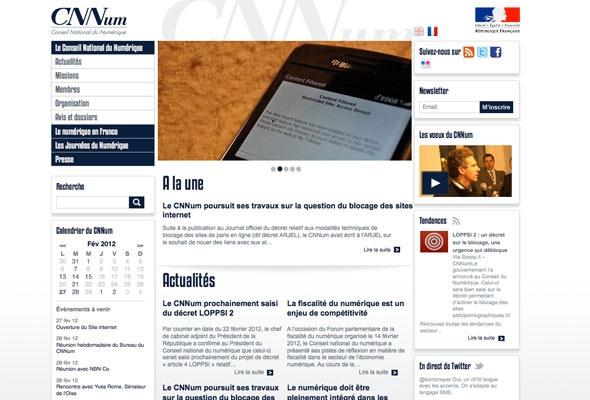 Le Conseil National du Numérique lance son site web