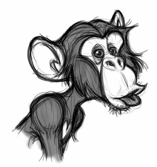 apes design | https://www.pinterest.com/characterdesigh/creature-design-apes/ The Art of David Boudreau* • Blog/Website | (www.davidboudreau.weebly.com) ★ || *Please support the artists and studios featured here by buying this and other artworks in their official online stores • Find more artists at www.facebook.com/CharacterDesignReferences and www.pinterest.com/characterdesigh and learn more about #concept #art #animation #anime #comics || ★