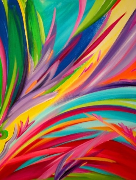 Birds of paradise www.katecowbag.wix.com/katieappledesigns Paintings & murals commissions By Kate Chappell katecowbag@hotmail.com