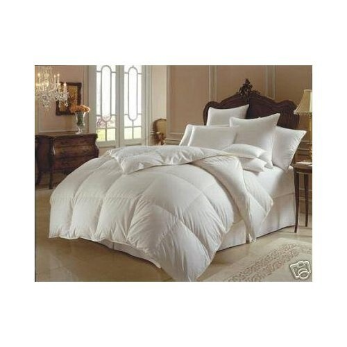 1200 thread count king size goose down alternative comforter 100 egyptian cotton 1200 tc for Home design down alternative color king comforter
