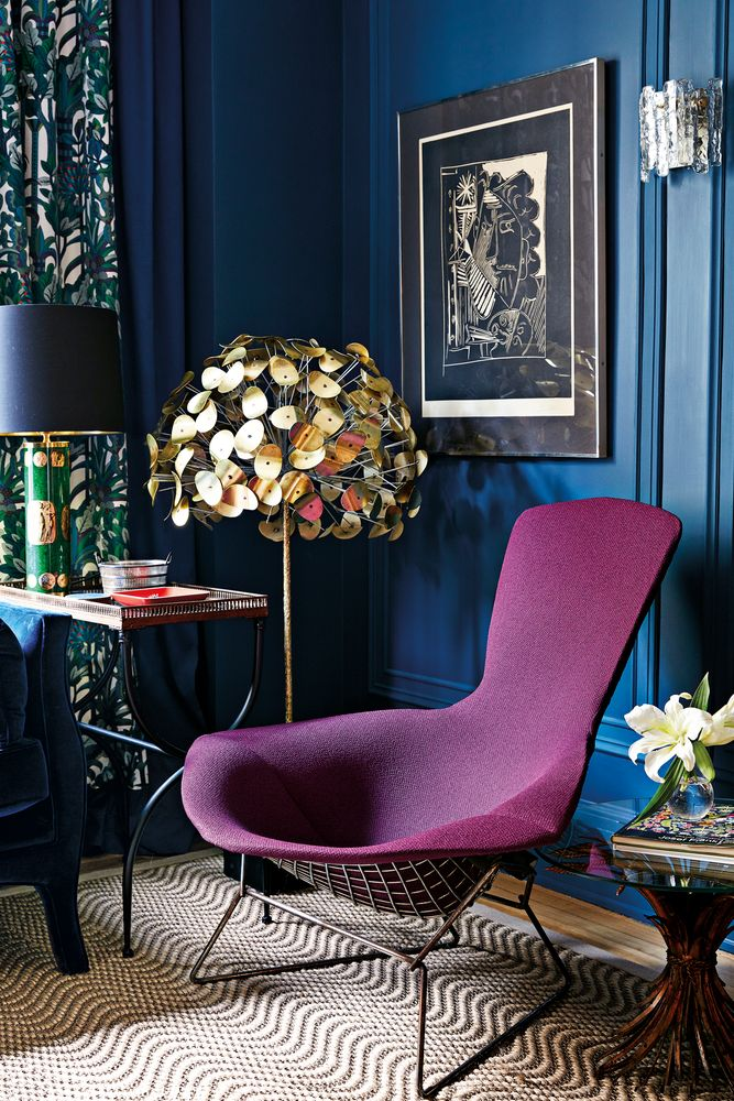 Whimsy and Design Savvy Strike a Happy Chord in This Colorful NYC Home on domino.com