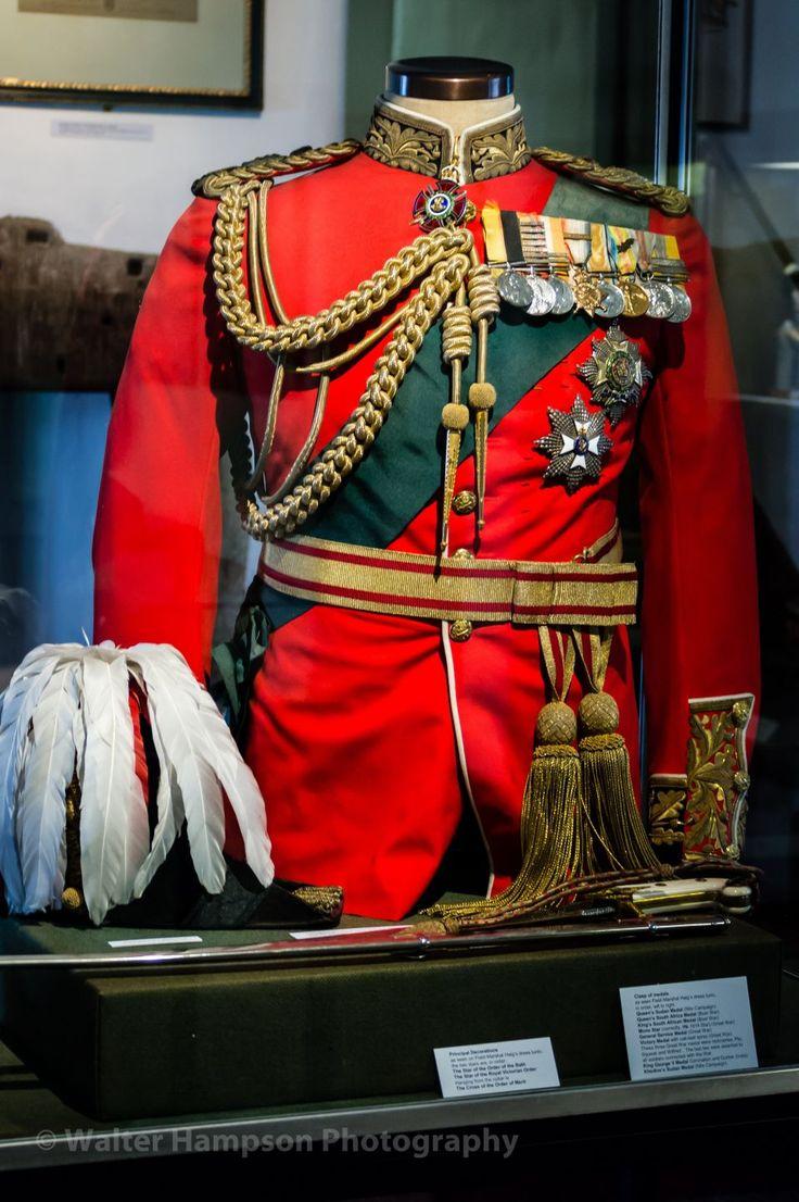 Field Marshal Haig uniform (Museum of Edinburgh)